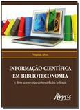 Informacao cientifica em biblioteconomia: o livre - Appris