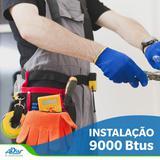 Instalação de Ar Condicionado Split 9000 Btus com até 5 Metros de Tubulação - Ar condicionado / adias