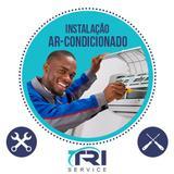 Instalação de Ar Condicionado Split Hi Wall de 11000 a 14000 BTUs Tri Service