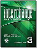 Interchange 3 students book with dvd rom  online n - Cambridge