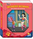 Janelinha lenticular - Meus heróis em quebra-cabeças: Wonder woman...