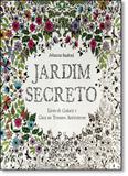 Jardim Secreto: Livro de Colorir e Caça ao Tesouro Antiestresse - Sextante