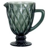 Jarra Clear Vitral Verre Mimo Style -tc14857 - Preta