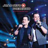 João Neto  Frederico - Ao Vivo Em Palmas - CD - Som livre