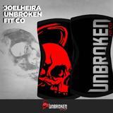 Joelheiras UnbrokenFitCo Red Skull 7mm