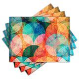 Jogo Americano - Abstrato com 4 peças - 547Jo - Allodi