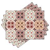 Jogo Americano - Azulejos com 4 peças - 1151Jo - Allodi