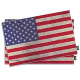 Jogo Americano Bandeira dos Estados Unidos - 2 peças - Yaay