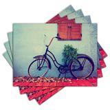 Jogo Americano - Bicicleta com 4 peças - 394Jo - Allodi