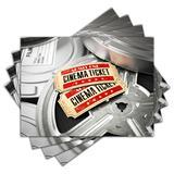 Jogo Americano - Cinema com 4 peças - 757Jo - Allodi