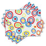 Jogo Americano - Circles com 4 peças - 157Jo - Allodi