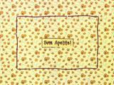 Jogo americano com 6 (seis) unidades - Abelha - Decor  casa
