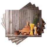 Jogo Americano - Cozinha com 4 peças - 878Jo - Allodi