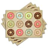 Jogo Americano - Donuts com 4 peças - 303Jo - Allodi