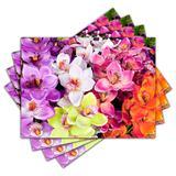 Jogo Americano - Flores com 4 peças - 425Jo - Allodi