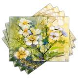 Jogo Americano - Flores com 4 peças - 856Jo - Allodi