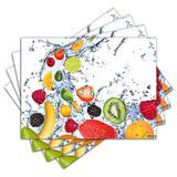 Jogo Americano - Frutas com 4 peças - 016Jo - Allodi