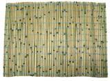 Jogo Americano Hoi An Verde 4 Peças - Bambú - Detalhes de classe