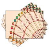 Jogo Americano - Parque Vintage com 4 peças - 392Jo - Allodi