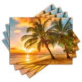Jogo Americano - Praia com 4 peças - 454Jo - Allodi
