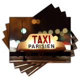 Jogo Americano - Taxi Paris com 4 peças - 436Jo - Allodi
