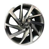 Jogo c/4 rodas aro 17x7,0 krmai r93 4x100 offset 38 gd (graphite diamond) novo polo
