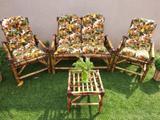 Jogo Cadeira Área Napoli, jardim, varanda, piscina,churrasqueira - Supremadecor