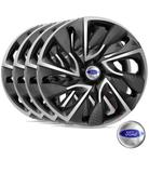 Jogo Calota Aro 14 Esportiva Ds4 Ford Fiesta - Elitte