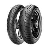 Jogo de 2 Pneus de Moto Pirelli Diablo Strada 120/70R17 58W + 180/55R17 73W TL