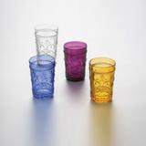 Jogo de 6 Copos Flor de Lis para Água - Lyor design