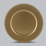 Jogo de 6 Sousplat Decorado Gold - Bon gourmet