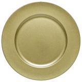 Jogo de 6 Sousplat Dourado - Bon gourmet