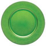 Jogo de 6 Sousplat Shinny Green - Bon gourmet