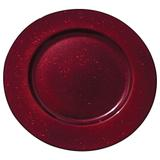 Jogo de 6 Sousplat Vermelho - Bon gourmet