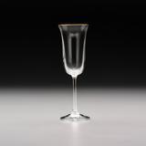 Jogo de 6 Taças Bell Gold para Champagne - Bohemia