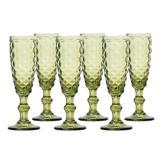 Jogo de 6 Taças Bico de Jaca Haus para Champagne - Hauskraft