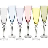 Jogo de 6 Taças Elisabeth Pant para Champagne - Bohemia