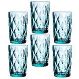 Jogo de copos agua diamante tifanny 330 ml - Lyor