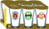 Jogo de Copos Boteco CervejasBR 200ml  C/ 6 Unidades - Hmartin