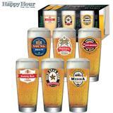 Jogo de Copos para Cerveja  300ml 6 Peças Ruvolo