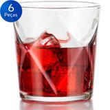 Jogo de Copos para Whisky 376ml 6 peças - Crisa