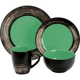 Jogo de Jantar Porcelana 16 peças Verde Hércules APJK10-16VD - Hercules