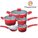 Jogo de Panelas Cerâmica 4,5mm MasterChef Original - Master chef