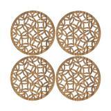 Jogo de Porta-Copos Circles 4 peças - Home Style