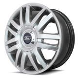 Jogo de Rodas Ford New FIesta K15 Aro 15 x 6,0 4x100/108 ET40 Prata - Kr wheels