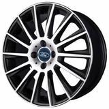 Jogo de Rodas New Fiesta Aro 14 x 6,0 4x108 ET30 R66 Preto Diamantado - Kr wheels