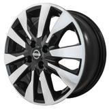Jogo de Rodas Nissan Kicks Aro 16 x 6,0 4x100 ET39 R90 Preto Diamantado - Kr wheels
