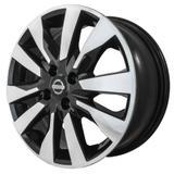 Jogo de Rodas Nissan Kicks Importado Aro 16 x 6,0 4x114 ET39 R90 Preto Diamantado + Porcas e Bicos - Kr wheels