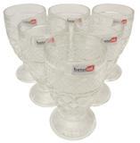 Jogo de Taças em Vidro com 6 Peças Barro - Betel