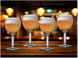 Jogo de Taças para Cerveja Vidro 4 Peças 550ml - Ruvolo Abadia